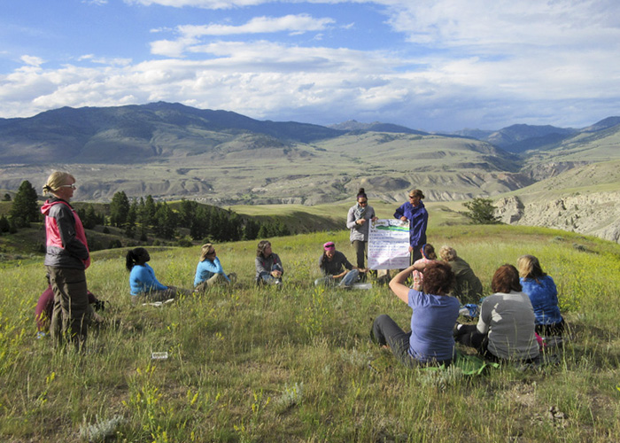 Yellowstone Educators of Excellence group. Photo: Laura England.