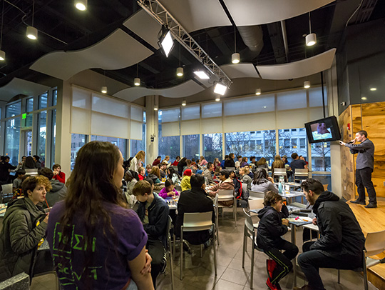 Teen Science Cafés