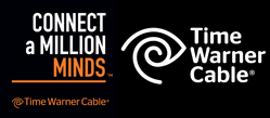 Time Warner Cable: Connect a Million Minds logo