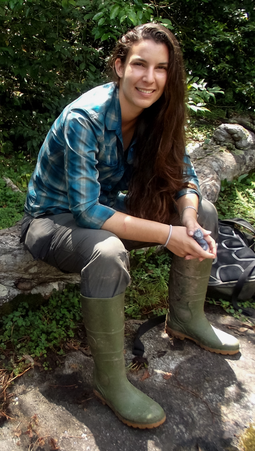Amelia is one tough field biologist who once got chased up a tree by an elephant.