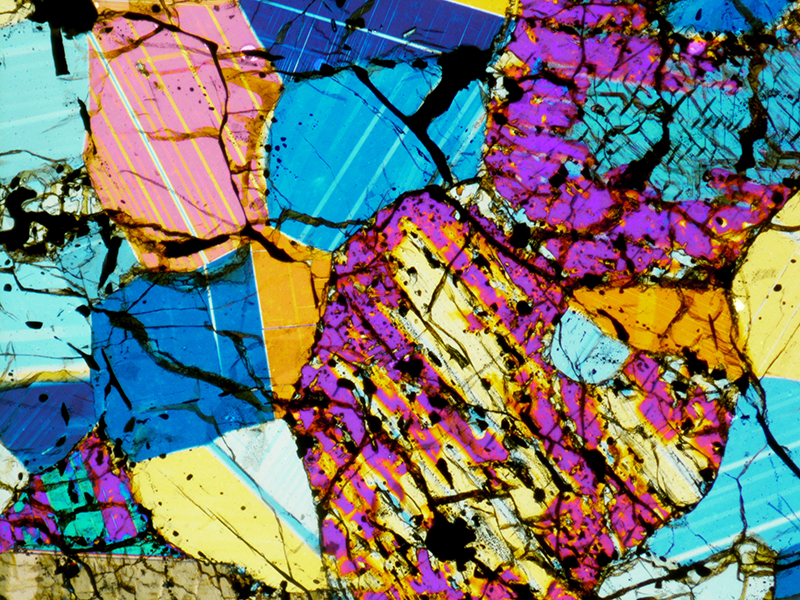 Meteorite Thin Section