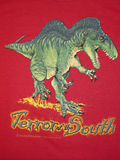 Red Terror of the South t-shirt
